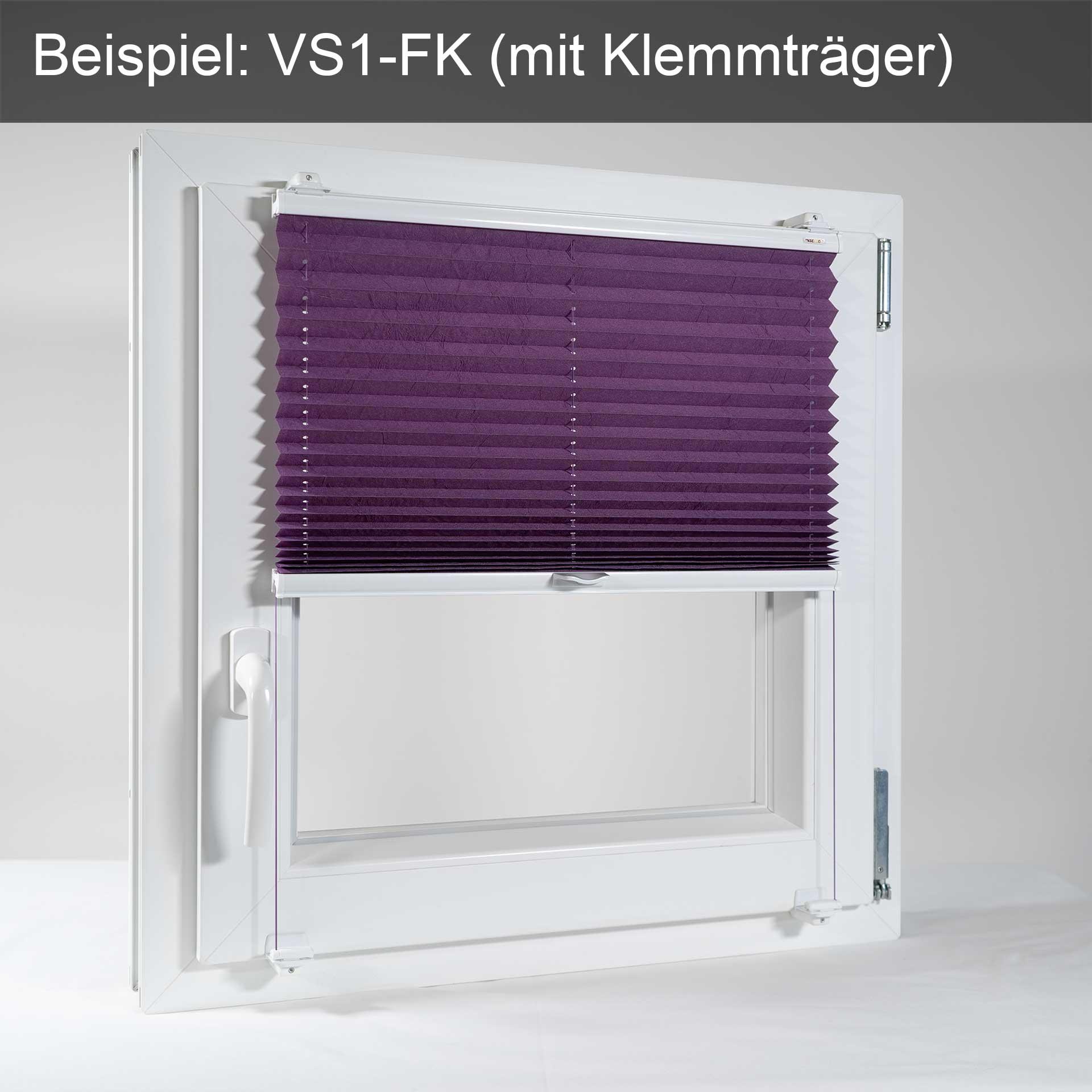 Sonnenschutz-Plissee VS1/VS2 für Fenster | mit Bediengriff