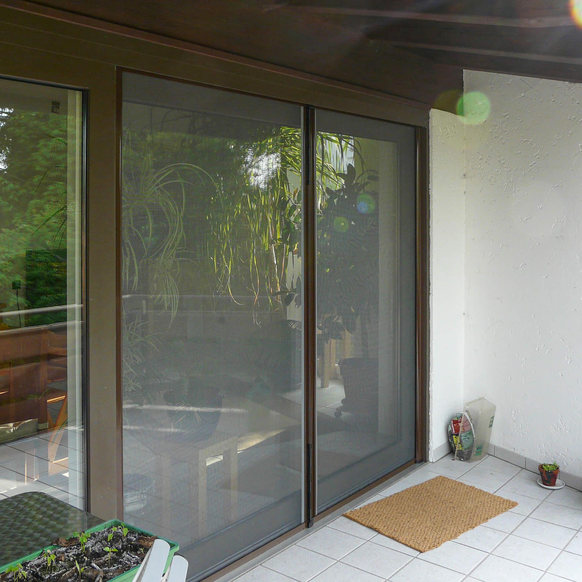 Insektenschutzrollo Doppeltür | Rollokästen auch zum Einklemmen | Adria