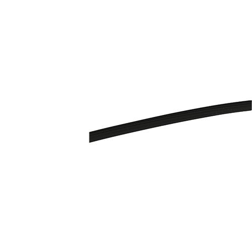Boxline PVC Keder 4,8 mm schwarz