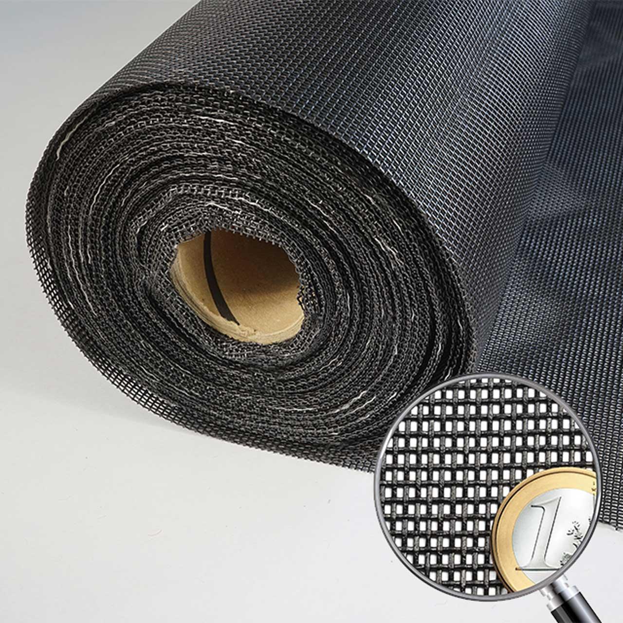 Fliegennetz PetScreen schwarz 1,20 m breit