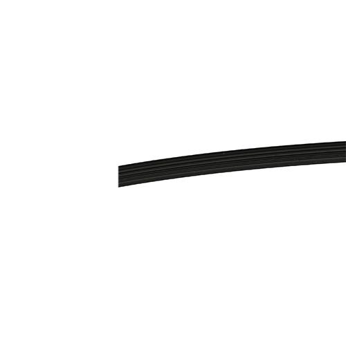 Flairline PVC Keder 6,3 mm schwarz