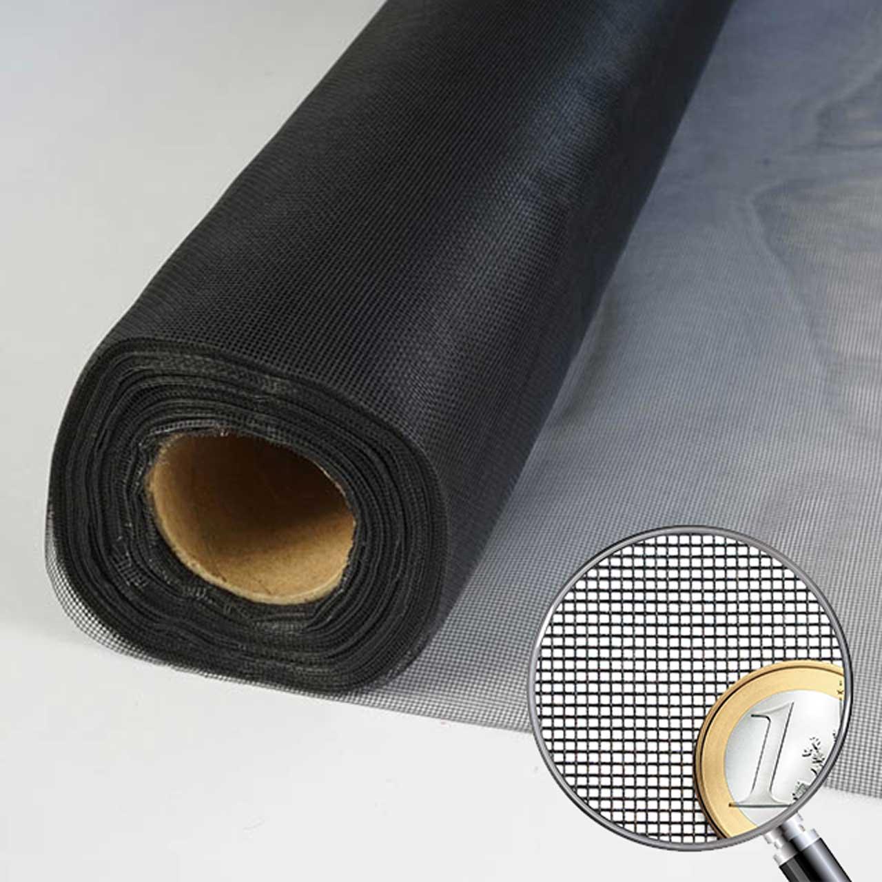 Netzmuster Fliegennetz ClearScreen schwarz